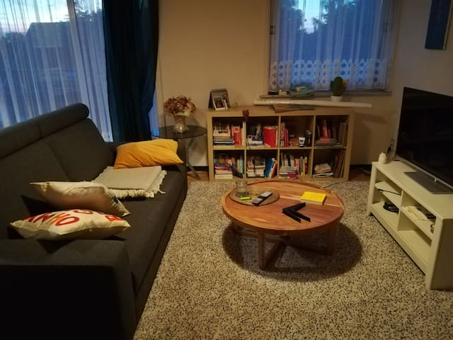 Small but cosy appartment.