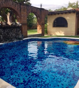 Nice house near Mexico city with private pool - Temixco