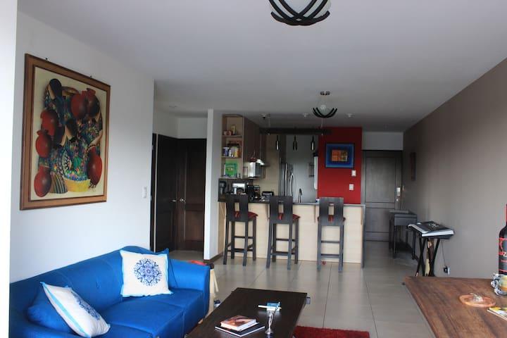 Habitación y Baño Privado en Apartamento Guatemala - Guatemala City - Lägenhet