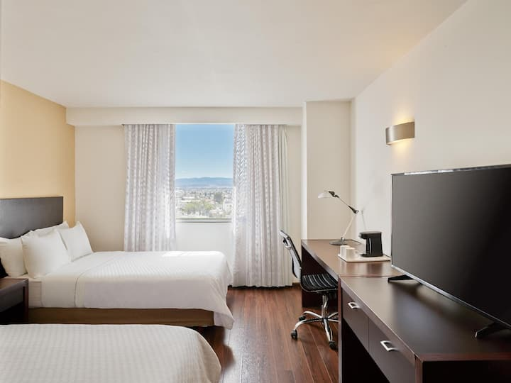 Outstanding Room Superior Two Double Beds At Durango