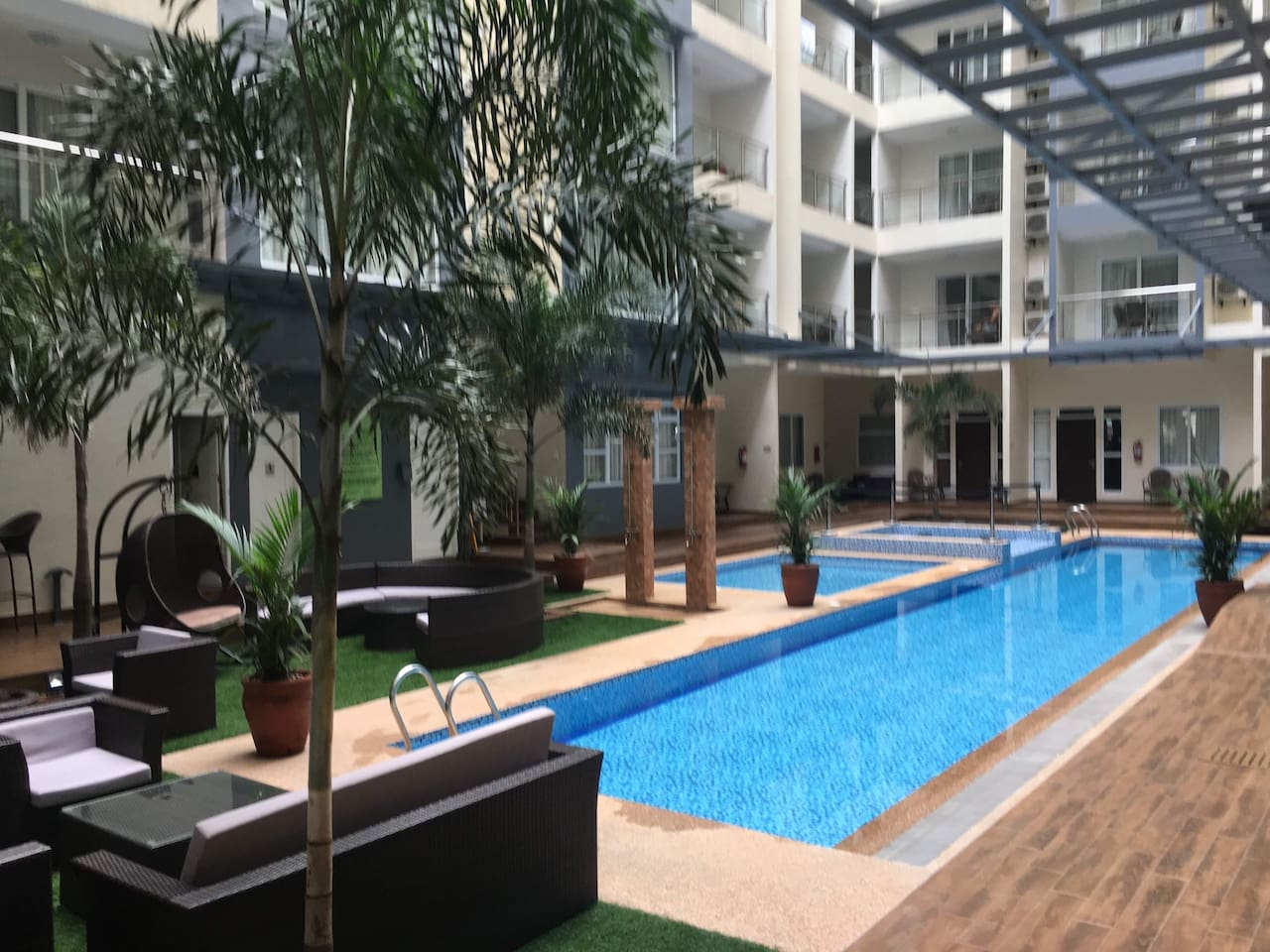 Ground Floor Pool Area