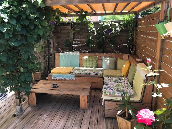 Appartement Jardin Terrasse TORREILLES PLAGE 66