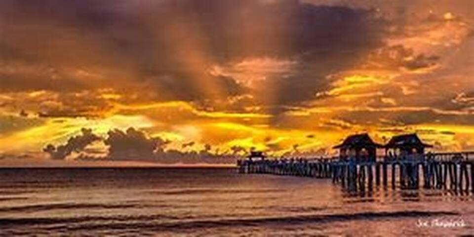 Coastal Getaway Near the Beach Naples Florida