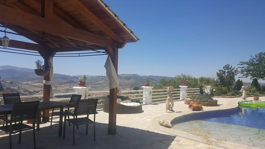 Exceptional rural flat with private swimming pool - Granada