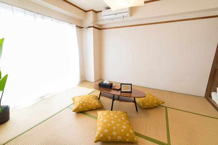 nice japanese style room with view
