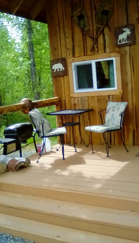 Talkeetna Burl Cabin