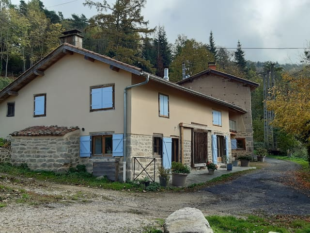 Great Farm in Forez: Le Cros de Montgolfier