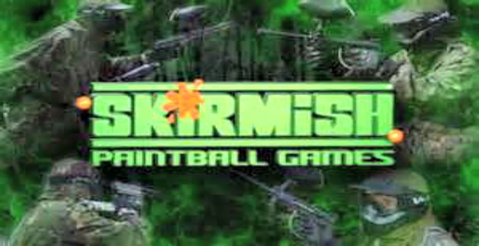Paintball Asylum is a 30 acre located 5min from house on camelback Rd,Skirmish is located 1 hour away 50 playing fields
