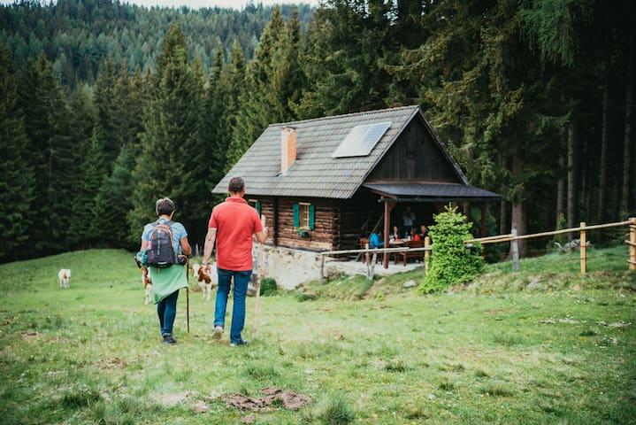 Almhütte – Pirkeralm (Urlaub auf der Saualm)