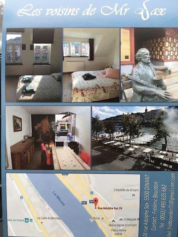 Magnifiques chambres tout confort - Dinant - Townhouse