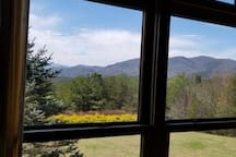 upstairs bedroom window view