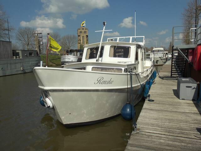 Genieten van de rust op het water - Nieuwpoort - Båt