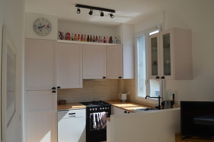 Cosy & modern appartment 15 mn from Paris - La Garenne-Colombes - Квартира