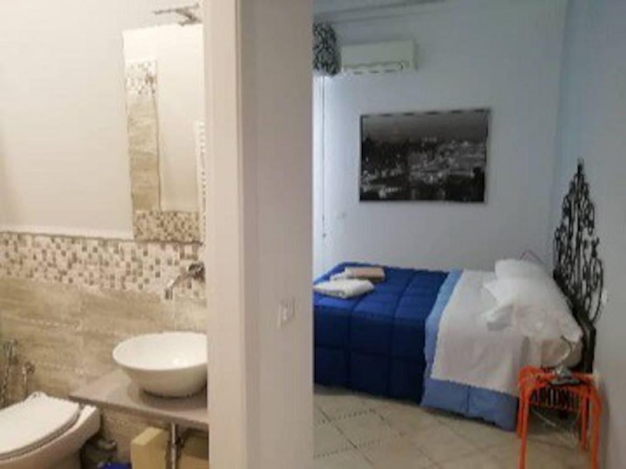 Camera Stibbert, matrimoniale con bagno privato e terrazza