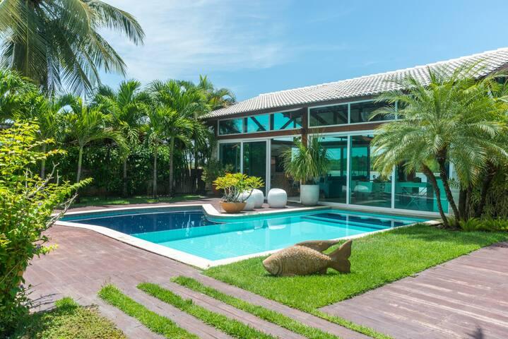 Casa Espaçosa Sofisticada Beira-Rio Toquinho