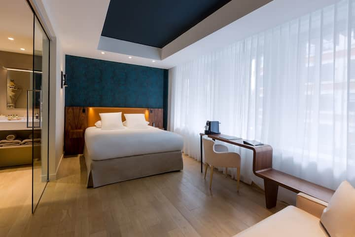 Chambre Prestige - Hôtel l'Arbre Voyageur