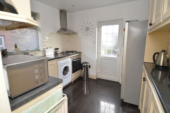 Shared fully fitted kitchen