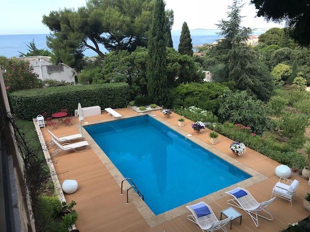St Clair Appartement en rez de jardin avec piscine