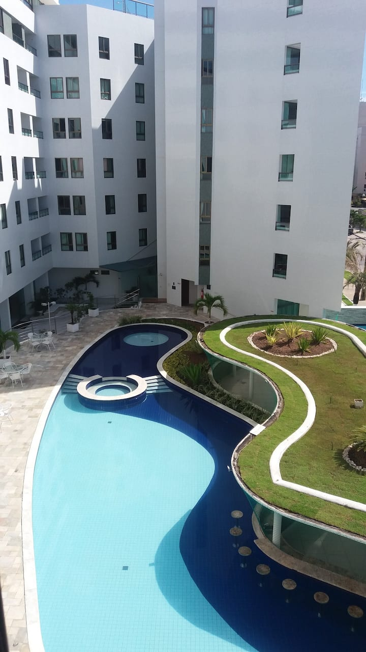 Apartment in Tambaú one block from the beach