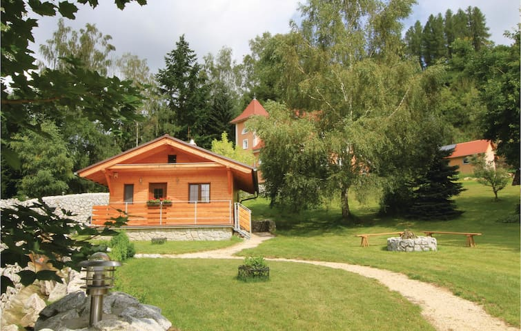 Holiday cottage with 1 bedroom on 36 m² in Becov nad Teplou