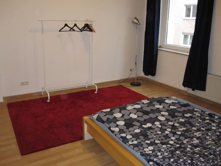 Ein roter Teppich als Beruhigung.