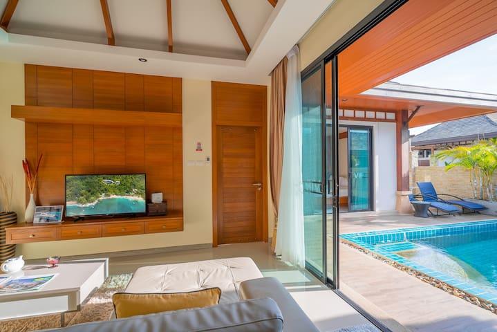 Villa 2 Bedroom - Rawai VIP Villas & Kids Park