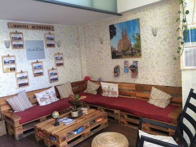 4 BED DORM IN AMAZING HOSTEL IN BARCELONA