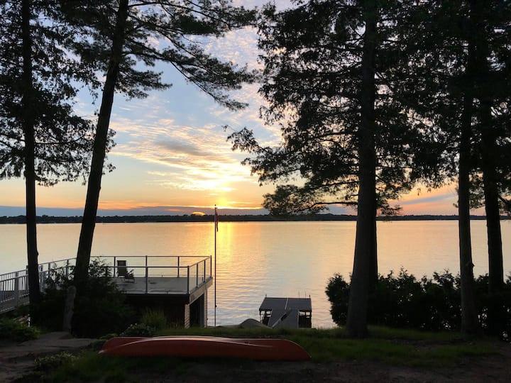 New Balsam Lake Cottage, sleeps 10