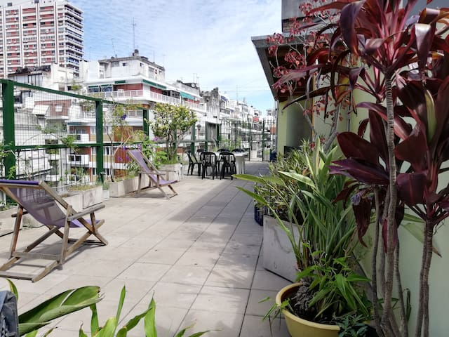 Recoleta great penthouse  w/private terrace &grill