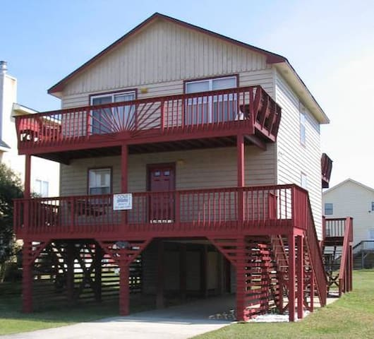 OBX Beach House; remodeled fall2017