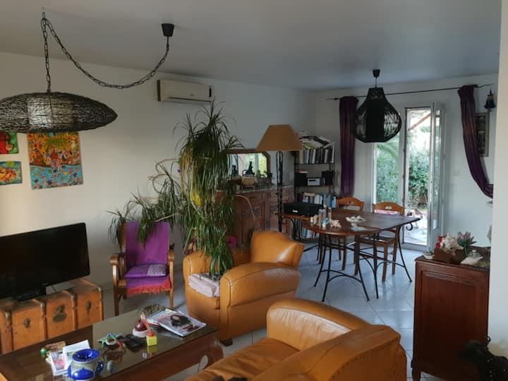 Villa une chambre avec belle terrasse