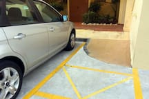 Easy access for dissabled Fácil acceso para personas con movilidad reducida