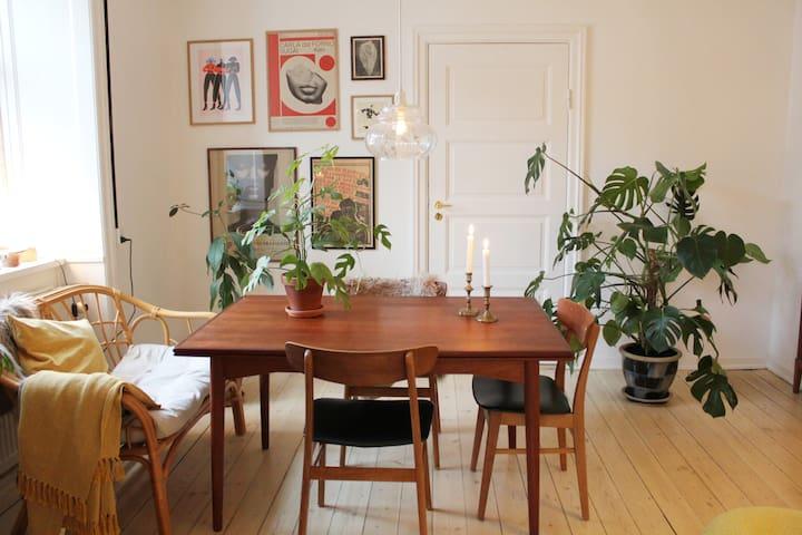 Bright 3-room apartment, Nørrebro