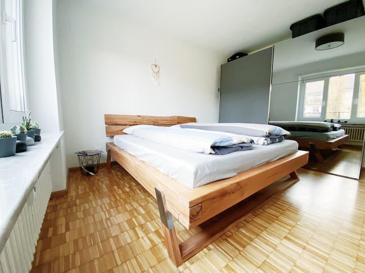 Schönes & gemütliches Apartment nähe Messeplatz