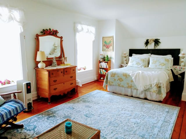 Your spacious room.