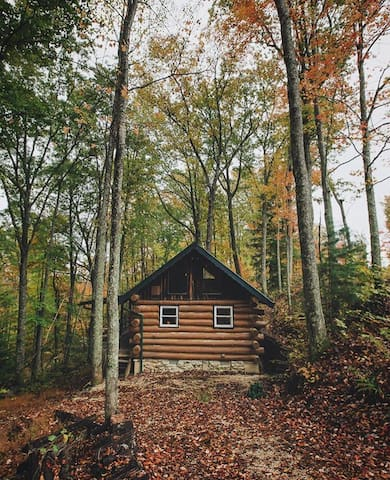 Authentic Log Cabin in the Red River Gorge