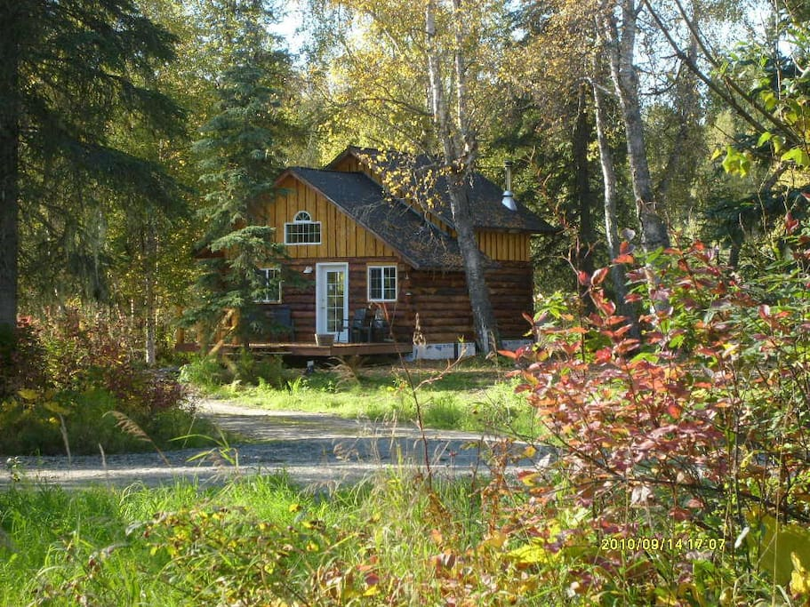Little Cabin in the Woods, exterior