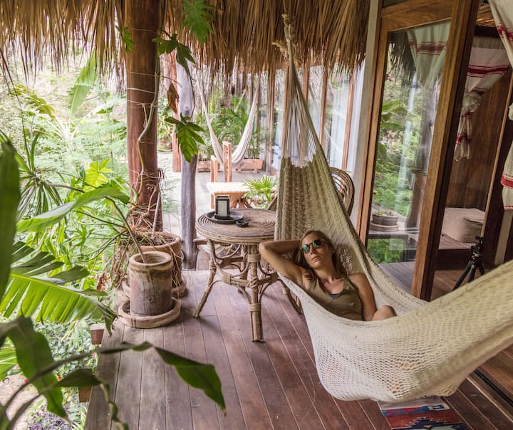 Cabaña 7 Mezzanine Casa Tamarindos