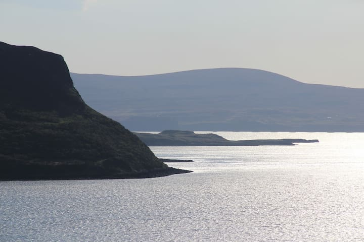 Lochbay Stein Waternish is world famous for sunsets, dark skies and is a natural heritage site