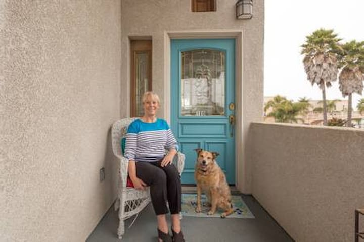Ozzie and I hope you will love our home and our beach town as much as we and our family do.