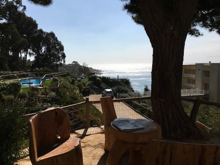 Cómodo departamento con excelente vista al mar