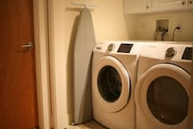 Guests have access to the washer & dryer from the unit.