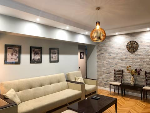 Modern apartment in the heart of Almaty