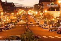 Nossa rua a noite, é linda!