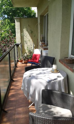 FREE parking, WIFI, Central peaceful green area - Budapest - Bed & Breakfast