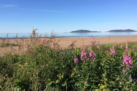 Lever et coucher du soleil, directe sur la plage