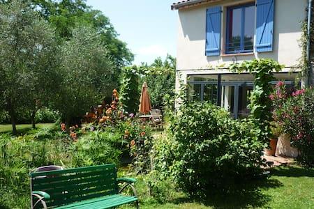 Maison sur jardin arboré avec piscine à Pamiers - Pamiers