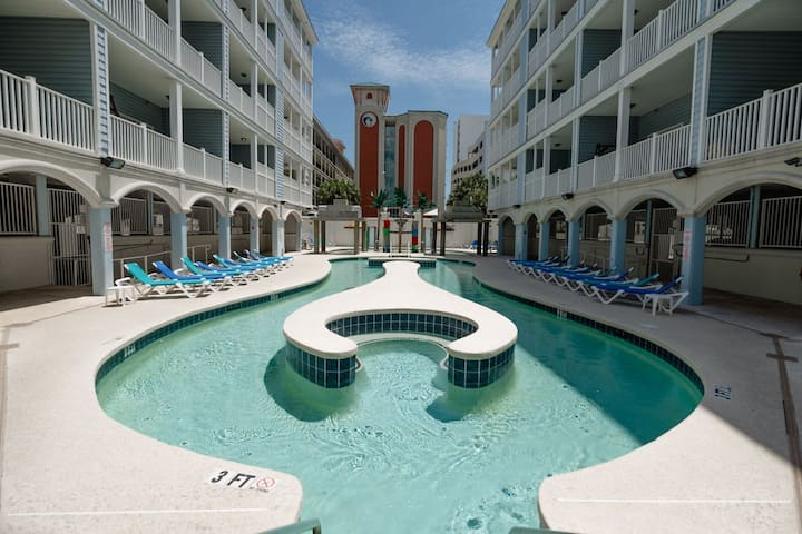 Myrtle Beach Villas 201A - 100% refund up to 48 hrs prior to arrival