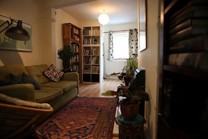 Bright & Cozy Double Room (& Bike) - Cambridge - Huis