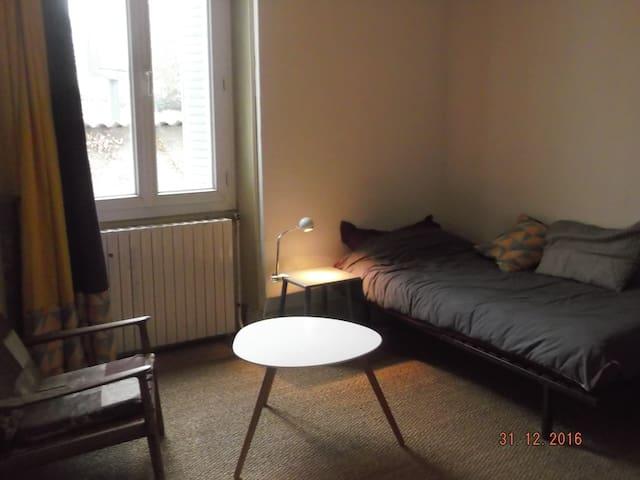 Chambre dans maison de famille - Romans-sur-Isère